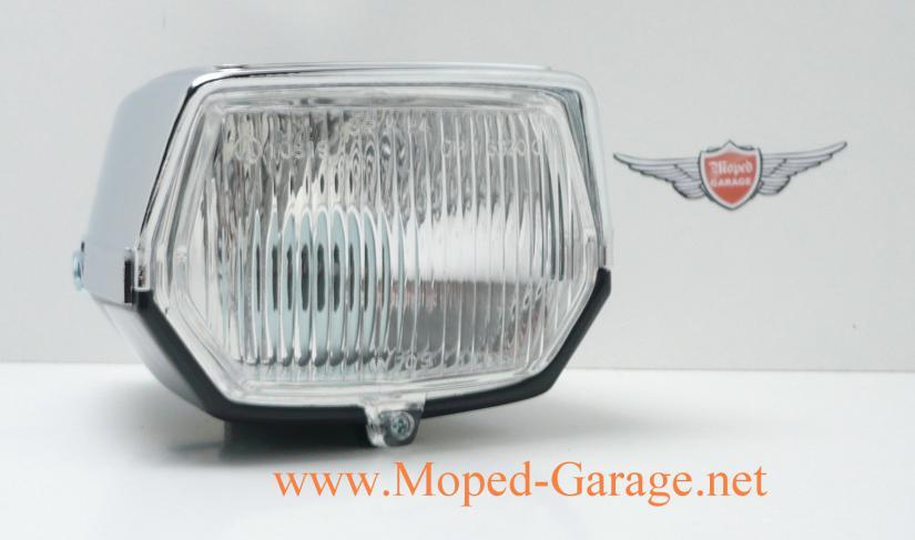 Simson Mofa Moped Rund Scheinwerfer Chrom Gitter 130mm Neu