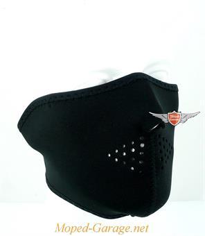 Biker Maske ZAN Headgear Motorrad Maske Chopper Black Custom Neopren