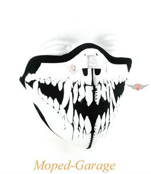 Biker Schutz Maske Wolf Skull Motorrad Maske Streetfighter Chopper