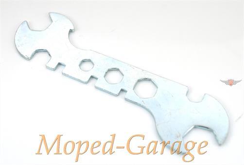Bordwerkzeug Flach Schlüssel Werkzeug Mofa Moped Kult