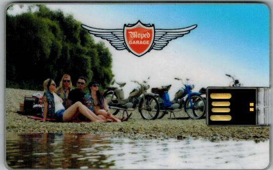 Moped-Garage Katalog USB Stick 3,5 GB