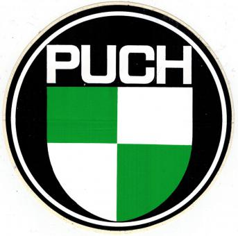 Puch Maxi Monza MS X original Logo Auto Aufkleber groß
