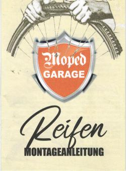 Moped-Garage Reifen Montage Anleitung