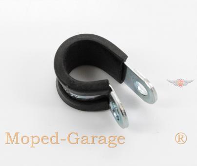 Moped Motorrad Roller Kabel Bowdenzug Führungs Schelle 12mm