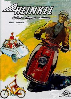 Heinkel Roller Moped Kabine Buch DVD