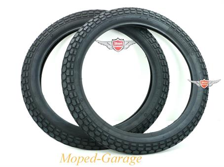 Hercules Mofa Moped Mokick Reifen Satz Continental 2 3/4 x 17