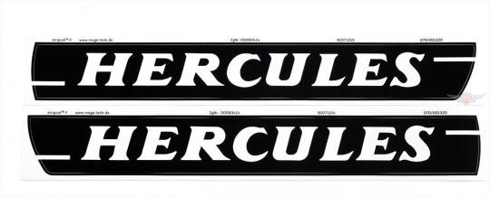 Hercules HR 1 HR 2 Hobby Rider Mofa Tank Aufkleber Dekor Schriftzug Set