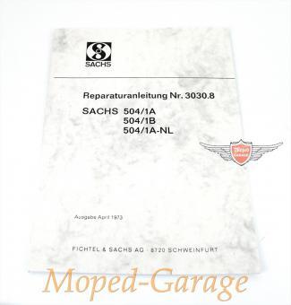 Hercules KTM DKW Sachs 504 Motor Reparatur Anleitung