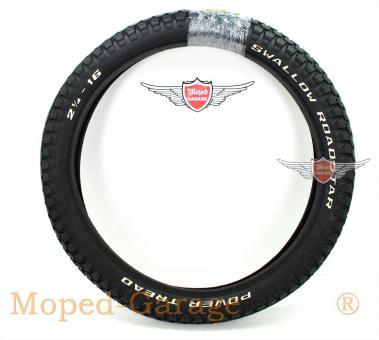 Puch Maxi Mofa Moped Schwalbe Roadstar Reifen 2 1/4 x 16 Zoll