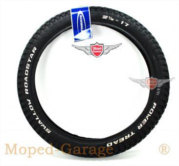 Puch Mofa Moped Schwalbe Roadstar Reifen 2 1/2 x 17