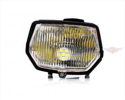 Mofa Moped Mokick LED Scheinwerfer mit Schalter