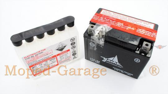 Honda Aprilia CPI Benelli Peugeot 12Volt 4 Ah Batterie