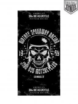 Mofa Moped Motorrad Roller Fahrer Halstuch Tuch John Doe Skull