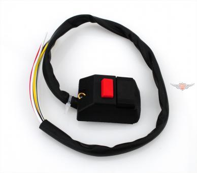 Zündapp KS 50 GTS C Licht Schalter Hupe für Magura Armatur