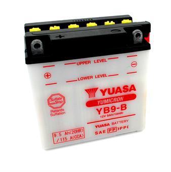 KTM L PL PLW RL 80 AC LC Yuasa Batterie 12 Volt 9 Ah YB9-B