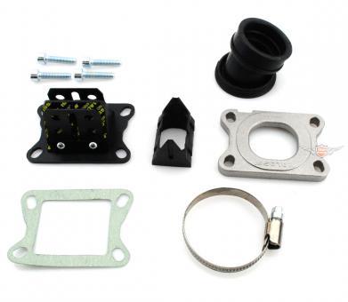 Derbi Senda Minarelli AM 6 Malossi Carbon Tuning Vergaser Membran