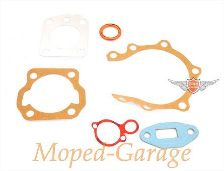 Mobylette Motor und Zylinder Dichtsatz Mofa Moped 6 teilig