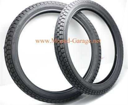 Mofa Moped Mokick KKR Reifen Satz Conti 2 1/2 x 19