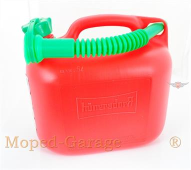 Mofa Moped Motorrad Roller Auto Benzin Kanister Kraftstoff Kanister 5 Liter