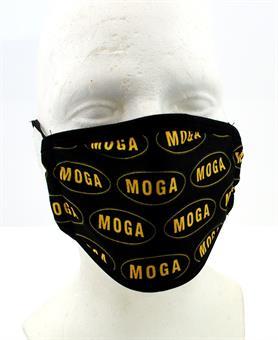 MOGA Luxus Schutz Maske Mundschutz Microfaser waschbar