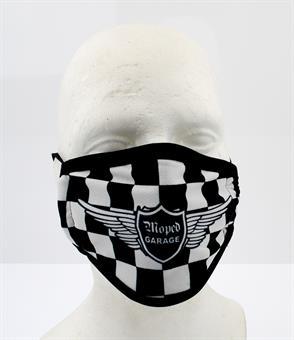 Moped-Garage Racing Schutz Maske Mundschutz Microfaser waschbar