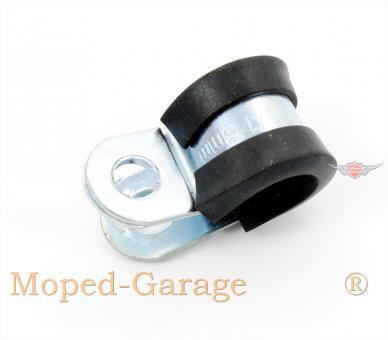 Moped Motorrad Roller Kabel Bowdenzug Führungs Schelle 8mm