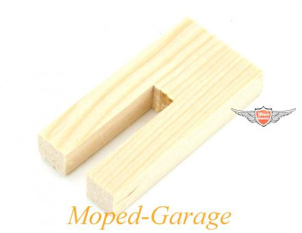 Simson Schwalbe S SR Mofa Moped Mokick Kolben Holz