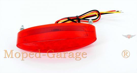 Harley Motorrad LED Light Rücklicht + Tüv Rot
