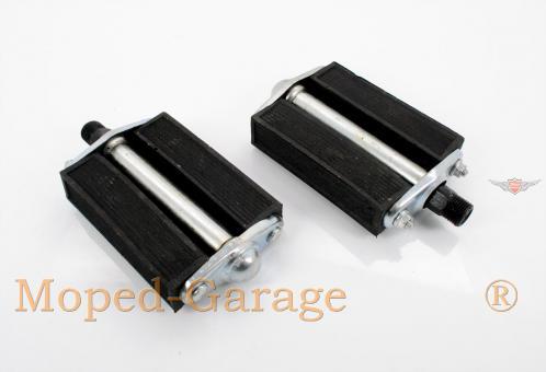 Velo Solex Mobylette Peugeot Mofa Moped 50er Block Pedal Paar Classic