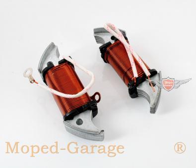 Piaggio Vespa Ciao Mofa Moped Zündung Primär Zündspule Lichtspule Spule Set