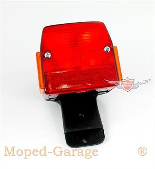 Puch Maxi Macho Rücklicht komplett + Halter Bremslicht
