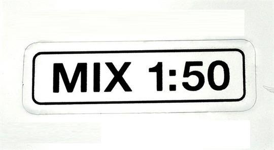 Puch Maxi Monza X Mofa Moped Tank Aufkleber Mix 1:50 Chrom