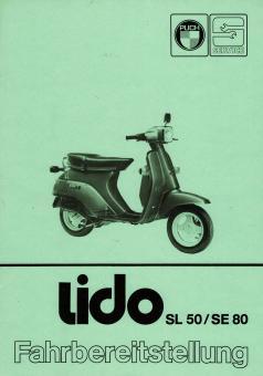 Puch Lido Vario SL 50 SE 80 Fahrbereit Stellung Katalog Original Neu