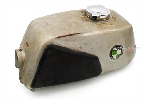 Puch M 125 Benzin Tank mit Deckel und Kniekissen Original Gebraucht