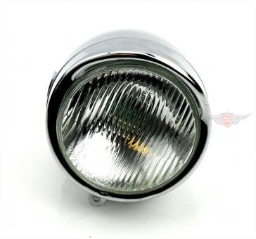 Hercules Mofa Moped Scheinwerfer 85mm Silber