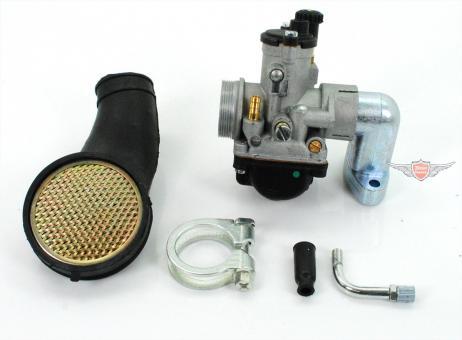Puch Maxi Tuning Vergaser Set mit Ansaug Stutzen 17,5mm