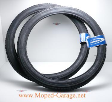Mofa Moped Schwalbe Reifen Satz 2 1/4 x 19