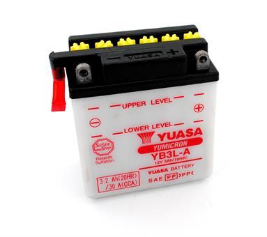 Simson Habicht Sperber Moped Yuasa Batterie 12 Volt 3 Ah Elektrik YB3L-A