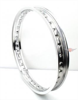 Simson Schwalbe KR S SR Aluminium Felge 1,50 x 16 Zoll Silber