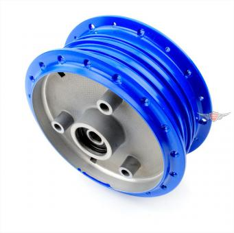 Simson Schwalbe KR S SR Aluminium Rad Nabe Tuning Blau
