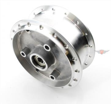 Simson Schwalbe KR S SR Aluminium Rad Nabe Tuning Silber