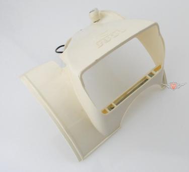 Velo Solex 3800 Scheinwerfer Verkleidung mit Schalter Weiß