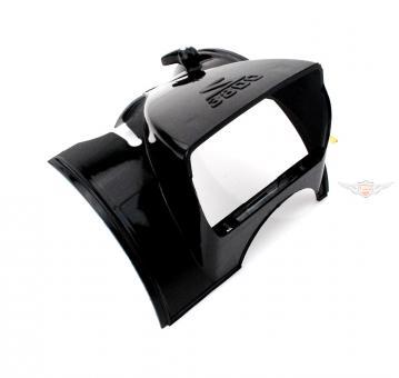 Velo Solex 3800 Scheinwerfer Verkleidung mit Schalter Schwarz