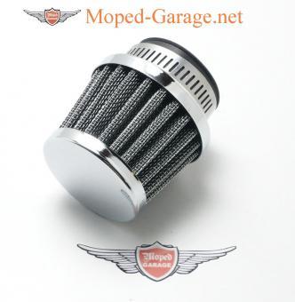 Mofa Moped Mokick Renn Sport Luftfilter gerade 35mm klein