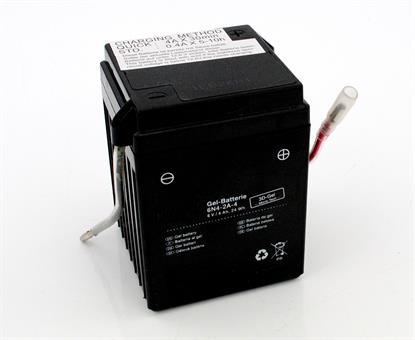 Suzuki RV GP 125 FM 50 Moped Gel Batterie 6 Volt 4 Ah Elektrik 6N4-2A-4