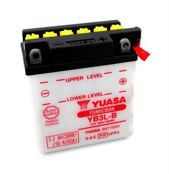Yamaha DT 80 LC 1 2 DT 125 R  RD 80 LC 2 XT 350 500 Yuasa Batterie 12 Volt  3 AH YB3L-B