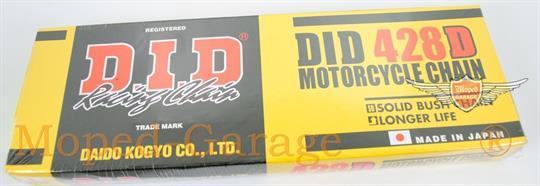 Yamaha DT 80 LC 2 SR 250 TW 125 DID Kette 428 D 126 Glieder Standard