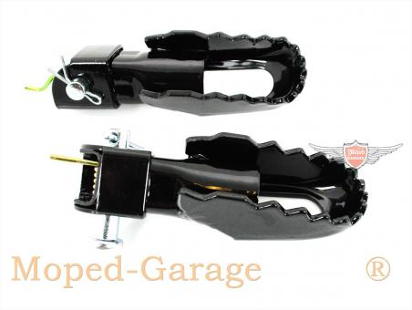moped yamaha dt 50 80 mx fu rasten satz. Black Bedroom Furniture Sets. Home Design Ideas
