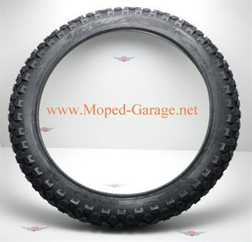 Zündapp SX 80 Moped Mokick KKR Mofa Enduro Vorderrad Reifen 2,75 x 19