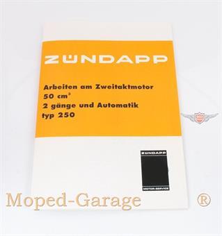 Zündapp ZR ZA A Mofa Moped Motor Reparatur Anleitung